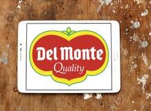 Logotipo de la compañía de Del Monte Foods imagen de archivo