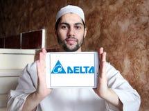 Logotipo de la compañía de Delta Electronics Imagenes de archivo