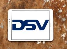 Logotipo de la compañía de DSV fotografía de archivo
