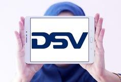 Logotipo de la compañía de DSV imagen de archivo