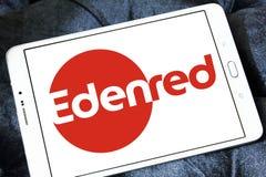 Logotipo de la compañía de Edenred imagenes de archivo