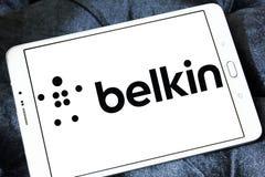 Logotipo de la compañía de electrónica de Belkin Imagenes de archivo