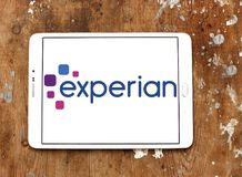 Logotipo de la compañía de Experian Fotografía de archivo
