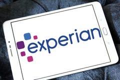 Logotipo de la compañía de Experian Fotos de archivo libres de regalías
