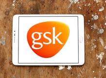 Logotipo de la compañía farmacéutica de Gsk Fotografía de archivo libre de regalías