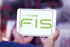 Logotipo de la compañía de FIS fotografía de archivo libre de regalías