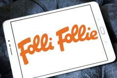 Logotipo de la compañía de Folli Follie fotos de archivo libres de regalías