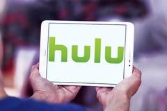 Logotipo de la compañía de Hulu imágenes de archivo libres de regalías