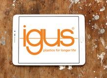Logotipo de la compañía de Igus fotografía de archivo