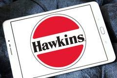 Logotipo de la compañía de las cocinas de Hawkins foto de archivo libre de regalías
