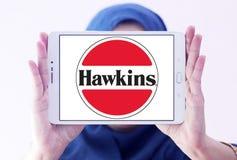 Logotipo de la compañía de las cocinas de Hawkins fotografía de archivo