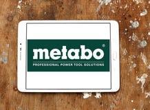 Logotipo de la compañía de las herramientas eléctricas de Metabo Fotografía de archivo libre de regalías