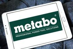Logotipo de la compañía de las herramientas eléctricas de Metabo Fotografía de archivo