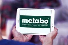 Logotipo de la compañía de las herramientas eléctricas de Metabo Fotos de archivo