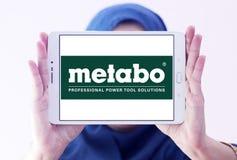 Logotipo de la compañía de las herramientas eléctricas de Metabo Imágenes de archivo libres de regalías