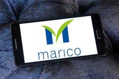 Logotipo de la compañía de las mercancías de Marico foto de archivo libre de regalías