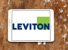 Logotipo de la compañía de Leviton imagen de archivo libre de regalías
