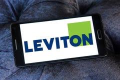 Logotipo de la compañía de Leviton fotos de archivo libres de regalías