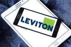 Logotipo de la compañía de Leviton foto de archivo libre de regalías