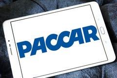 Logotipo de la compañía de los vehículos de Paccar fotografía de archivo