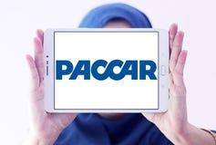 Logotipo de la compañía de los vehículos de Paccar imagen de archivo