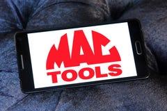Logotipo de la compañía de Mac Tools Fotos de archivo libres de regalías