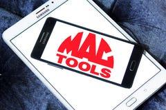 Logotipo de la compañía de Mac Tools Foto de archivo