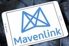 Logotipo de la compañía de Mavenlink fotografía de archivo