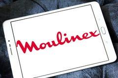 Logotipo de la compañía de Moulinex Foto de archivo libre de regalías