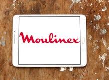 Logotipo de la compañía de Moulinex Foto de archivo