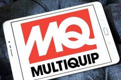 Logotipo de la compañía de Multiquip Fotografía de archivo libre de regalías