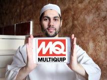 Logotipo de la compañía de Multiquip Foto de archivo libre de regalías