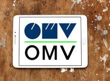 Logotipo de la compañía petrolera de OMV Foto de archivo