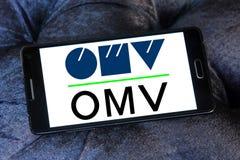 Logotipo de la compañía petrolera de OMV Fotos de archivo