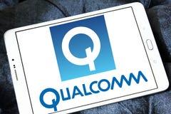 Logotipo de la compañía de Qualcomm fotos de archivo libres de regalías