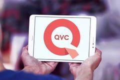Logotipo de la compañía de QVC fotos de archivo
