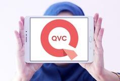 Logotipo de la compañía de QVC fotos de archivo libres de regalías
