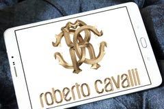 Logotipo de la compañía de Roberto Cavalli Imagen de archivo libre de regalías
