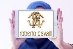 Logotipo de la compañía de Roberto Cavalli Imagen de archivo
