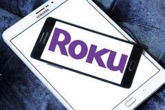 Logotipo de la compañía de Roku imagenes de archivo