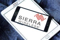 Logotipo de la compañía de Sierra Wireless imagenes de archivo