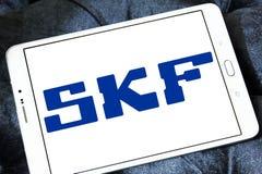 Logotipo de la compañía de SKF imágenes de archivo libres de regalías