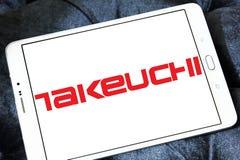 Logotipo de la compañía de Takeuchi Manufacturing imágenes de archivo libres de regalías