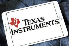 Logotipo de la compañía de Texas Instruments foto de archivo libre de regalías