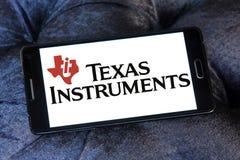 Logotipo de la compañía de Texas Instruments imagen de archivo
