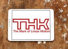 Logotipo de la compañía de THK fotografía de archivo libre de regalías