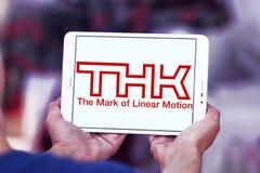 Logotipo de la compañía de THK foto de archivo