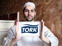 Logotipo de la compañía de Tork Imagenes de archivo
