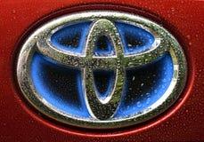 Logotipo de la compañía de Toyota Foto de archivo libre de regalías