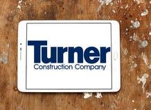 Logotipo de la compañía de Turner Construction foto de archivo